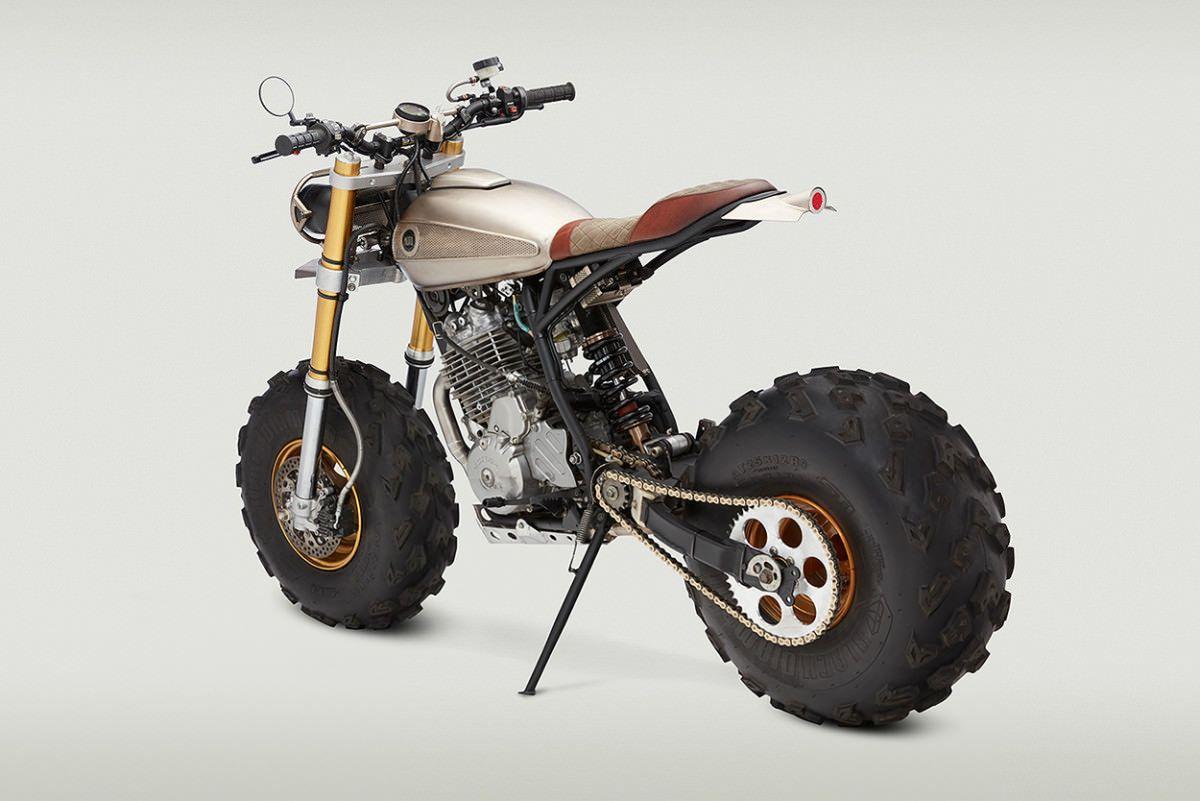custom honda xr650l motorcycle bike adventure dual. Black Bedroom Furniture Sets. Home Design Ideas