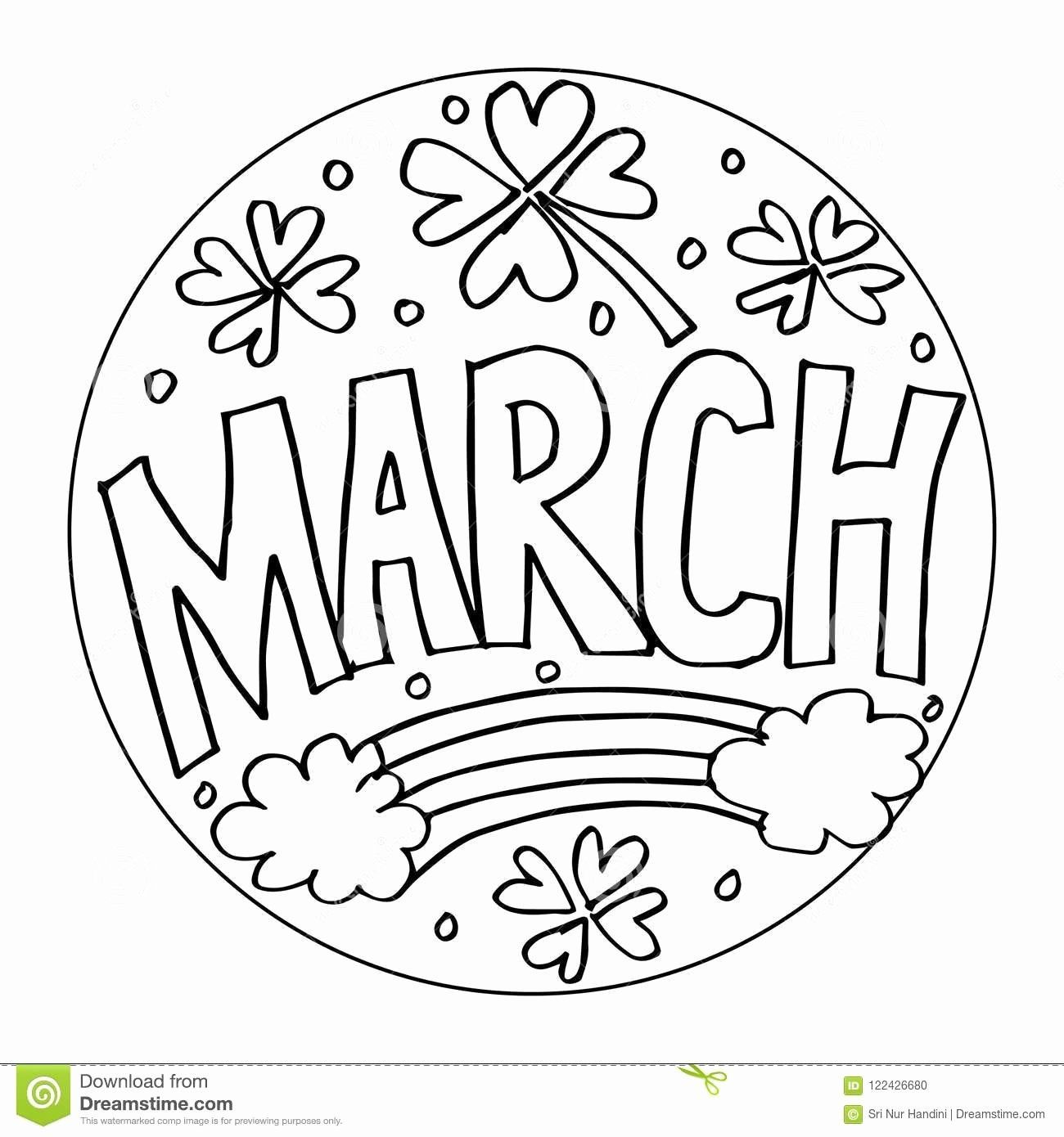 March Coloring Pages Printable Unique March Coloring Pages