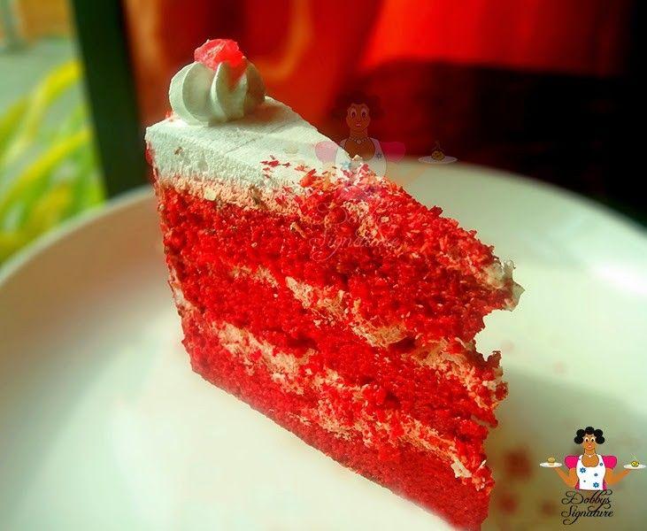 Dobby S Signature Red Velvet Cake Fruity Cake Velvet Cake