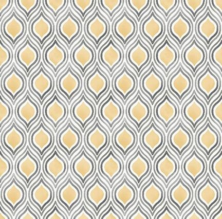 Manufacturer Brewster Book Name Mirabelle Pattern Number 2702 22716 Geometric Wallpaper Yellow Geometric Wallpaper Grey And Gold Bedroom