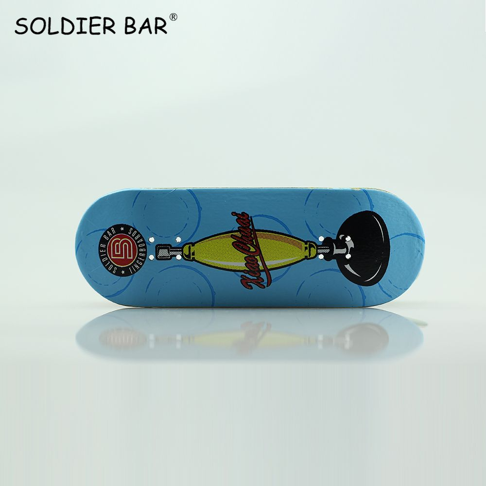 White Wheels Gift Eagle Trucks Red SOLDIER BAR Fingerboards Parts PRO Fourth Generation