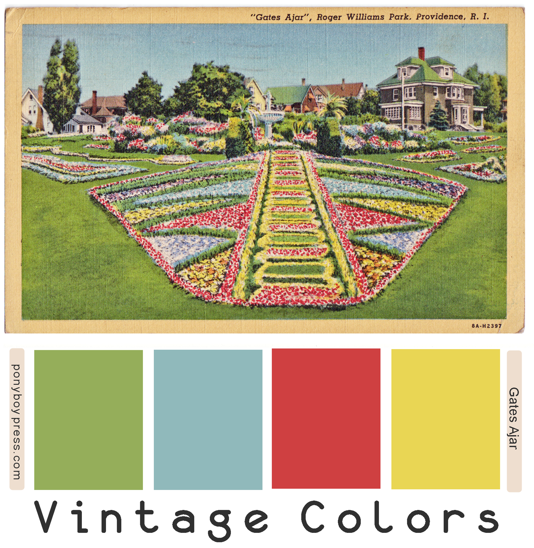 Vintage Color Palettes Gates Ajar Vintage Version Of A Nice Spring Palette Hex Color Codes On Vintage Colour Palette Vintage Color Schemes Vintage Colors