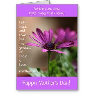 Purple Happy Mothers Day Purple Flower W Verse On Love Mothers