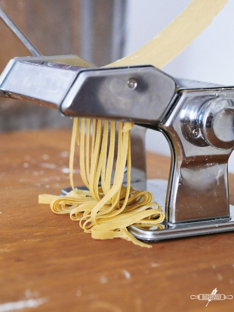 Grundrezept: Glutenfreie Nudeln selber machen #glutenfreierezepte