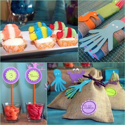 Cumplea os bajo el mar parties events pinterest - Ideas para cumpleanos infantiles ...