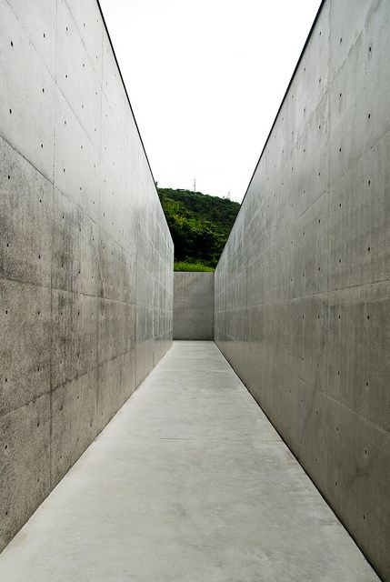 Lee Ufan Museum Japan. 2010. Tadao Ando. Naoshima island, Kagawa Prefecture, southern Japan