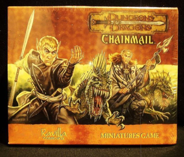 Dungeons & Dragons Chainmail Ravilla Trogs Combo Pack