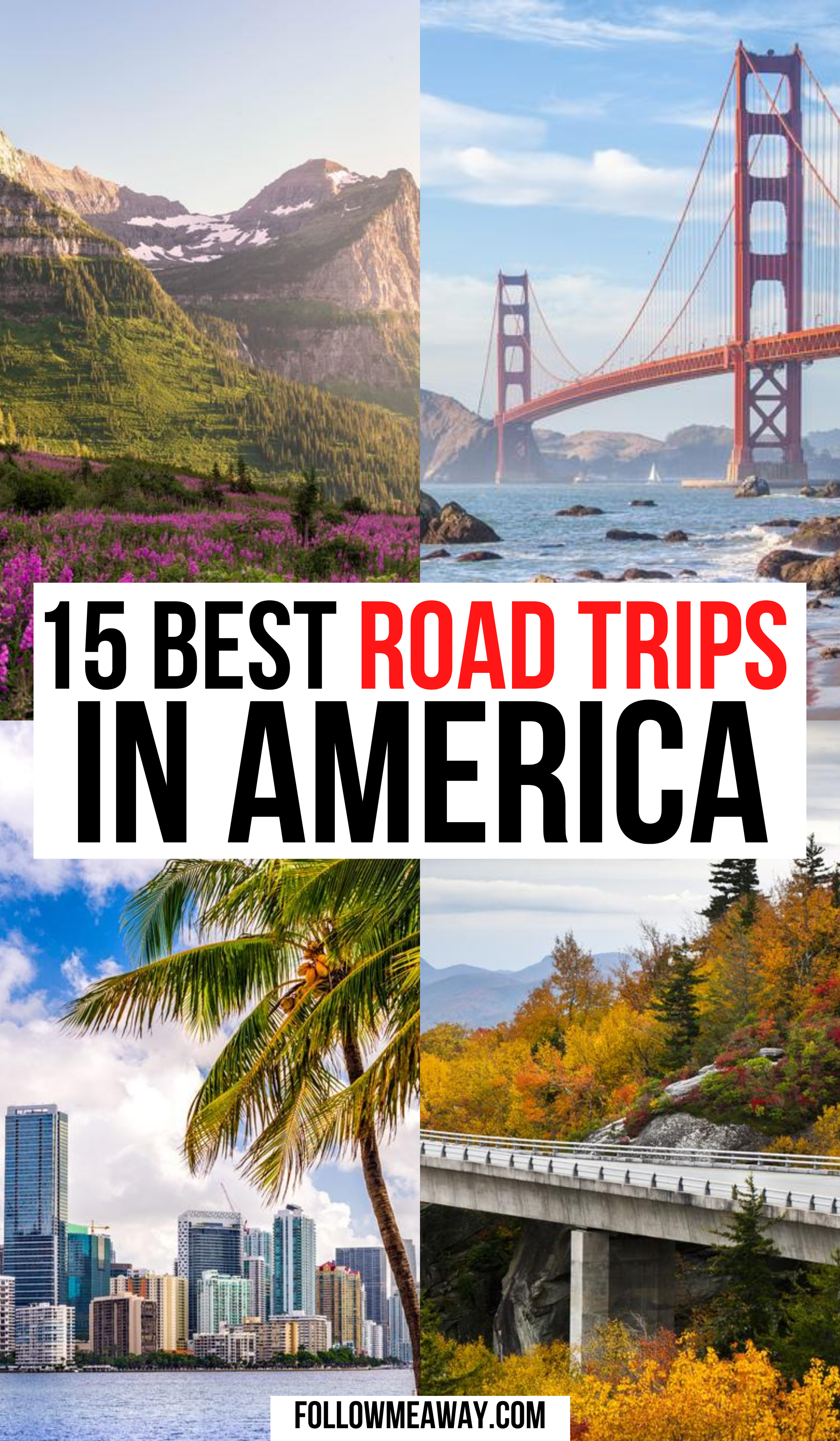 15 Best Road Trips In The Usa For Your Bucket List Road Trip Fun Usa Travel Destinations Trip