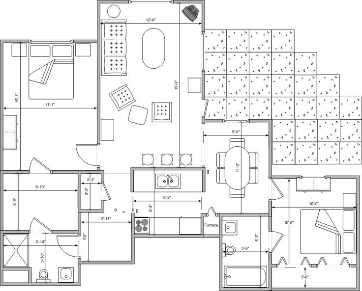 high resolution underground home plans house floor bedroom images ...