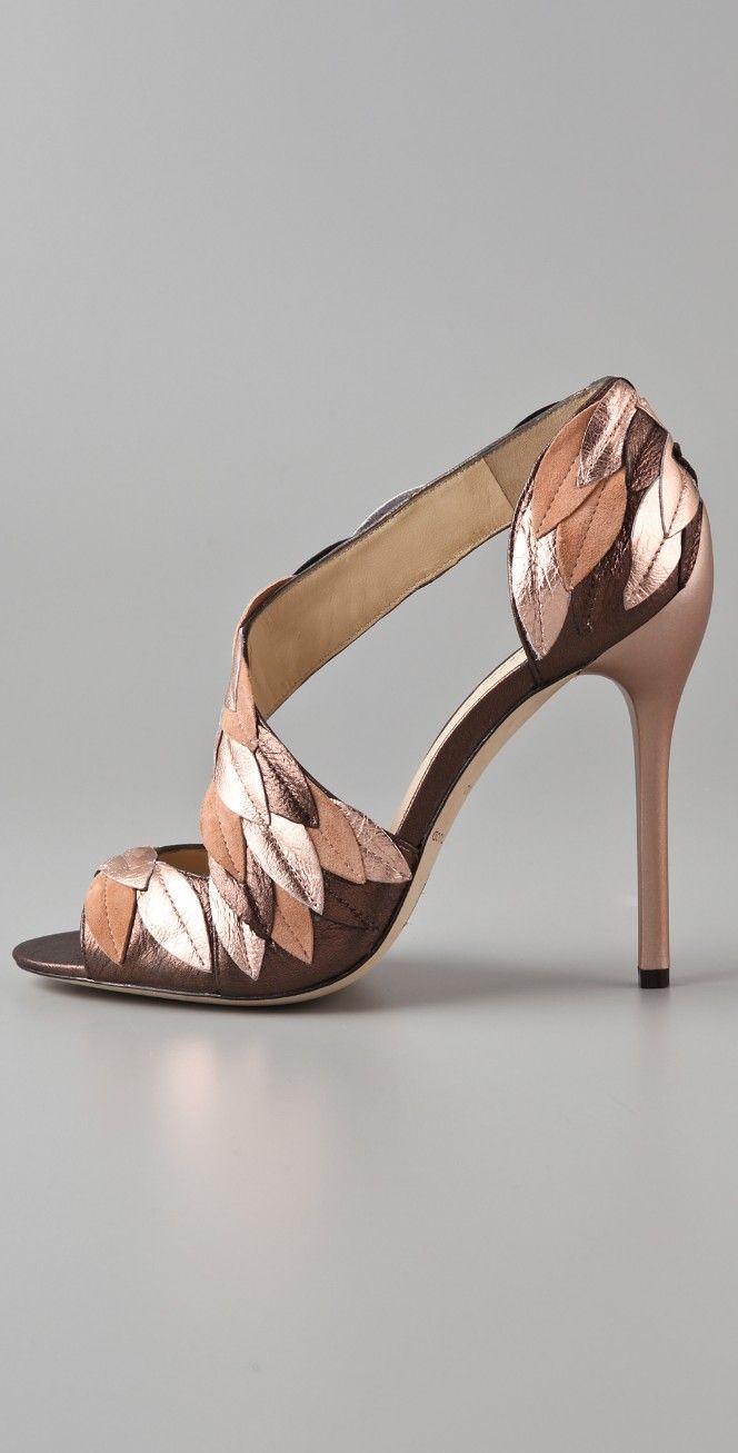 B Brian Atwood Lunetta High Heel Sandals | SHOPBOP