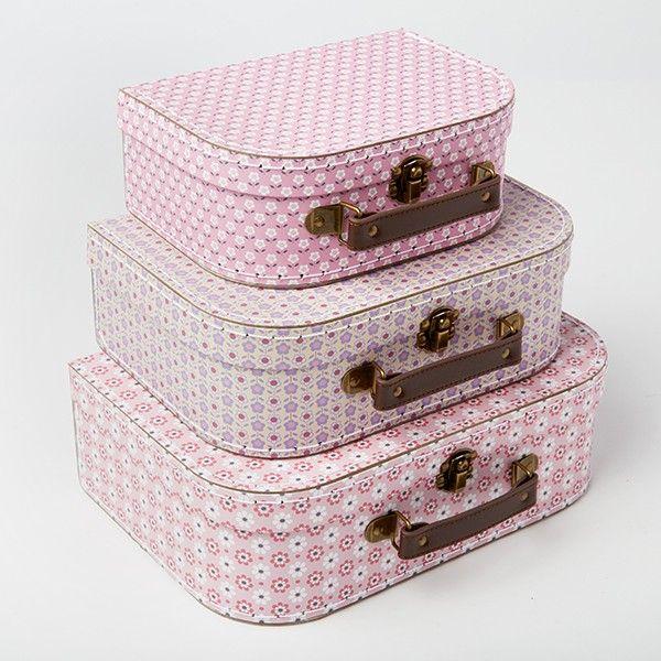 Set de 3 valises «Adélaïde»