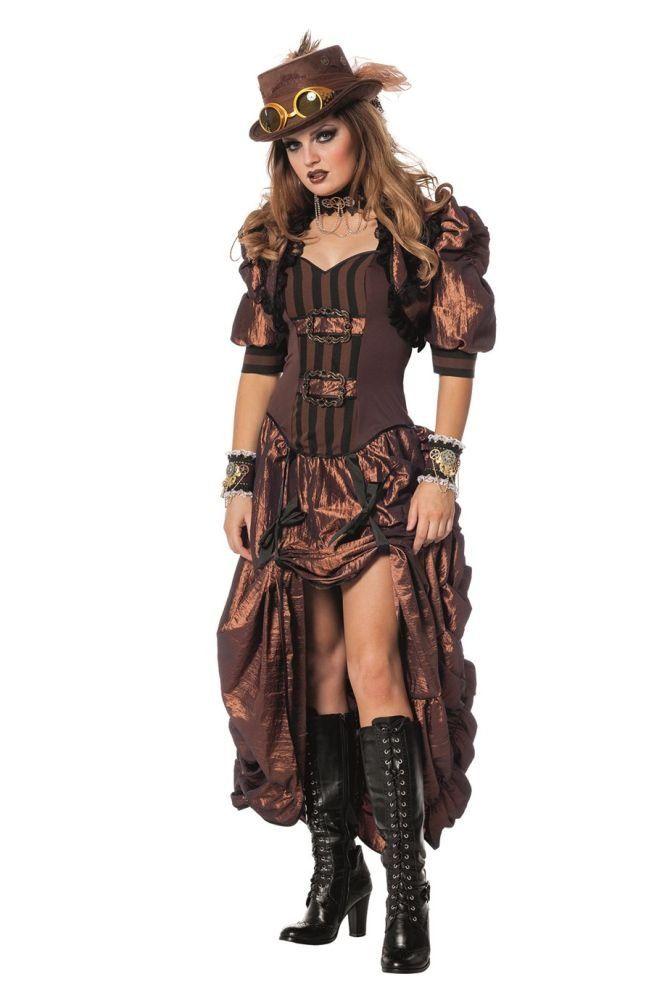 Sonderpreis für Veröffentlichungsdatum Straßenpreis Damen Kostüm Steampunk Western Saloon Girl Karneval Fasching ...