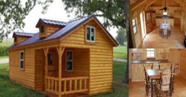 Build It Yourself With This Simple Log Cabin Kit Diy Log