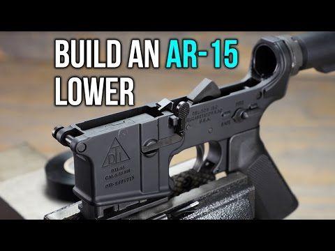 How To Build An Ar 15 Lower Receiver The Firearm Blogthe Firearm