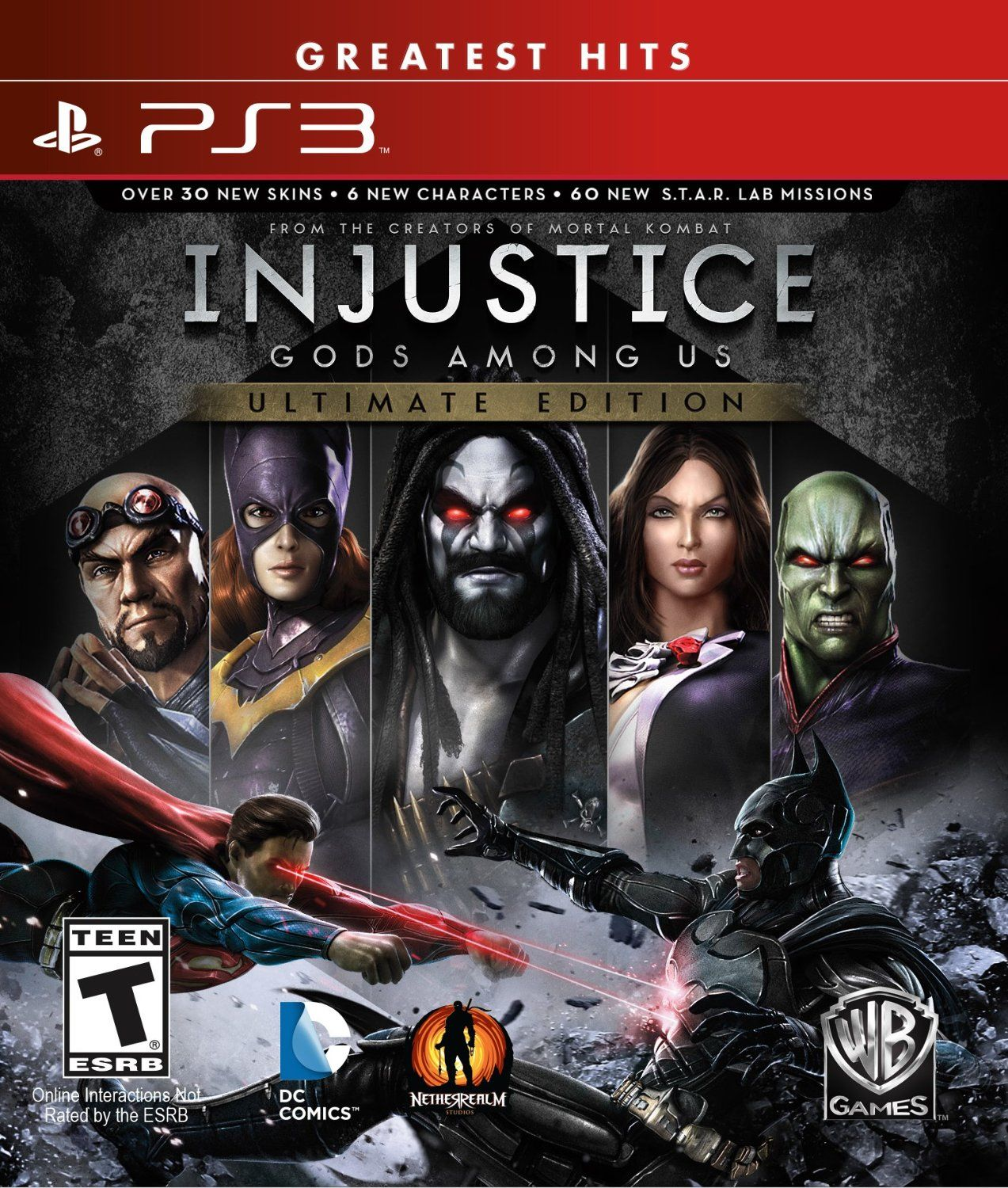 injustice gods among us ultimate edition ps3 Ps4 games