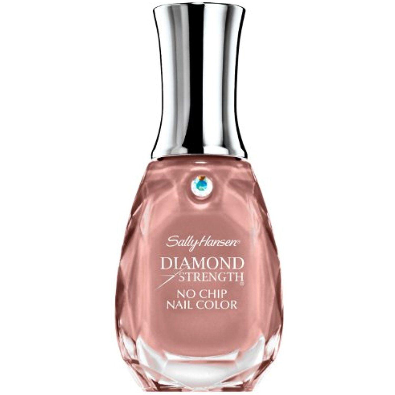 Sally Hansen Diamond Strength No Chip Nail Color 420 Nude Shimmer ...