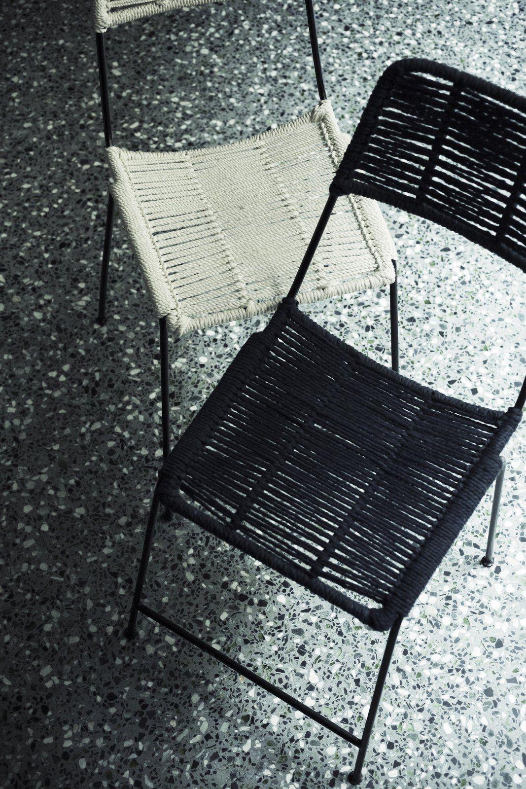 Chaise en coton tressée en 17  Chaise, Coton, Tresse