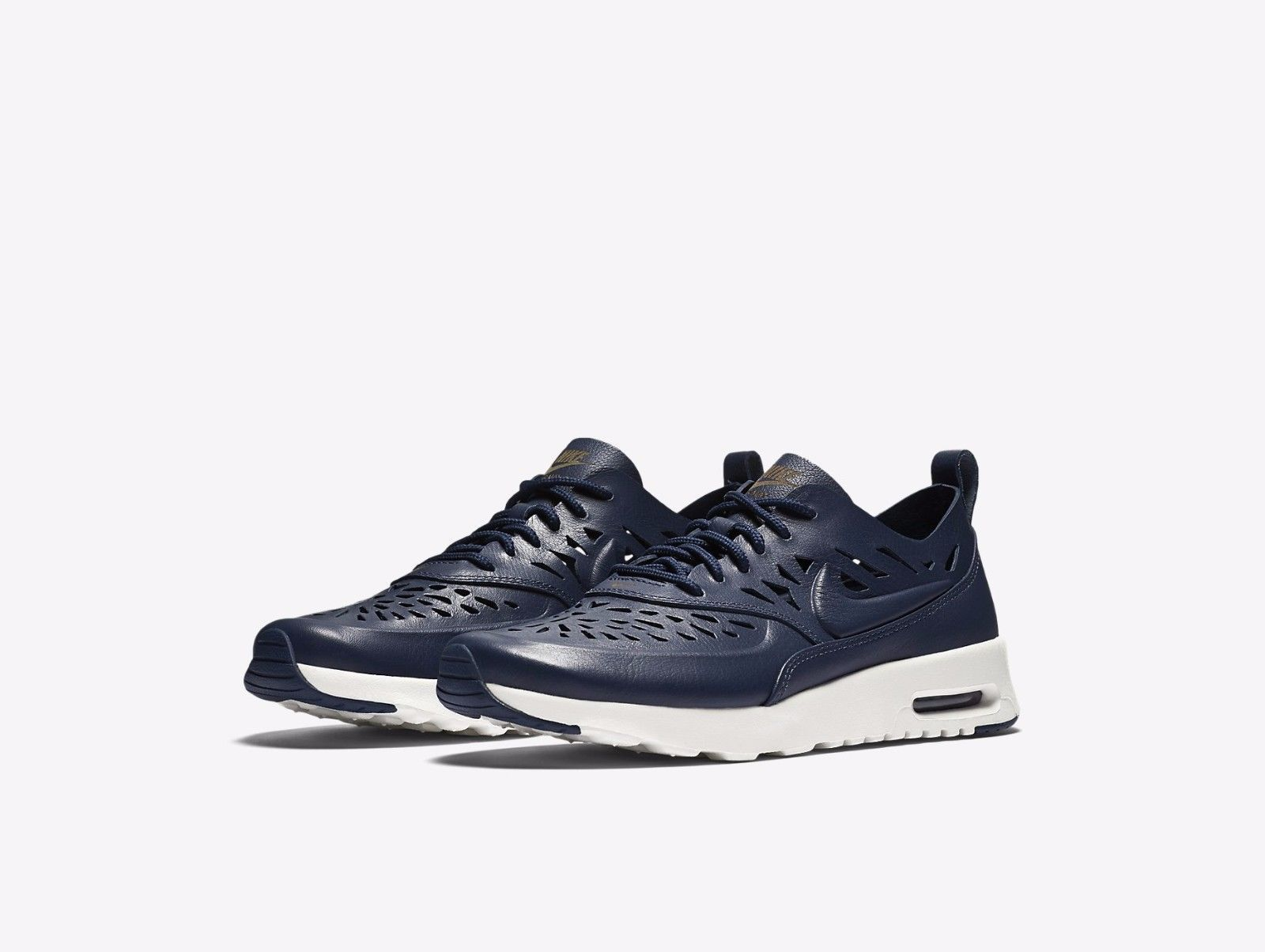 15c5907a95 Nike Air Max Thea Joli 725118-400 Midnight Navy Summit White Womens Sneakers