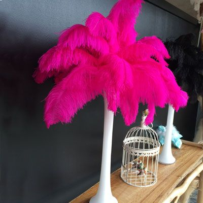 Blondine Feather Centrepiece