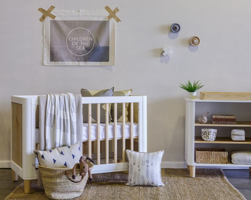 Teeny cot - Crisp white   Cots, Change tables and Nursery