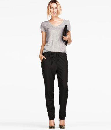 slouchy pants, its official, they're ok for work, yay! | Work ...