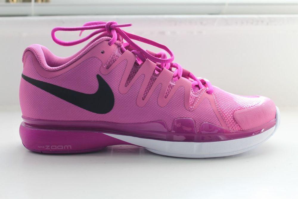 Nike Vapor 9 5 Tour Women S Tennis Court Shoes Purple Msrp 140 New Nike Womens Tennis Court Shoes Tennis Court Shoes Nike