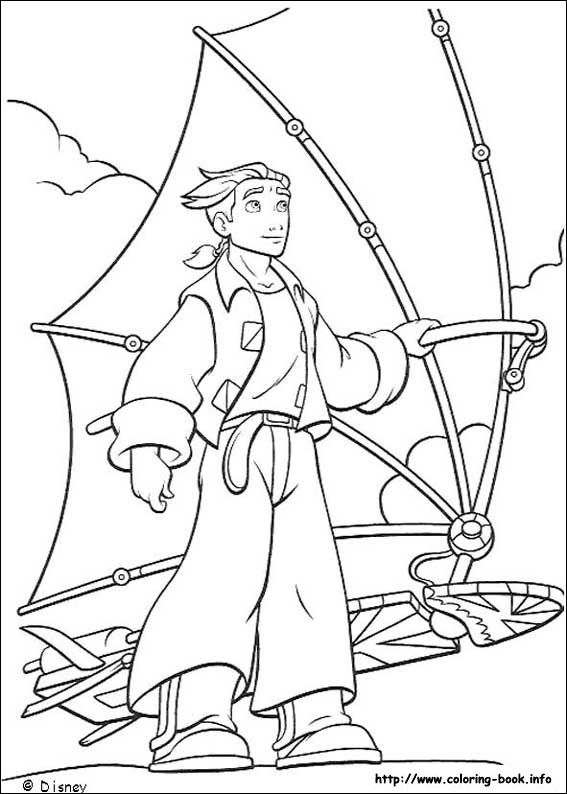 check out our review of treasure planet here httpchaptersandsceneswordpress disney coloring pagescoloring