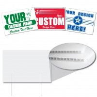12 X18 Corrugated Plastic Sign Corrugated Plastic Signs Are The Solution To Your Inexpensive Sign Ne Corrugated Plastic Signs Realtor Signs Custom Yard Signs