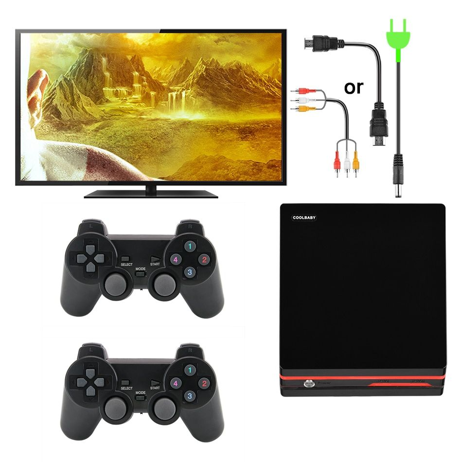 f826325606d Data Frog HDMI Video Game Console With 2.4G Wireless Controller 600 Classic  Games For GBA Family TV Retro Handheld Game Console