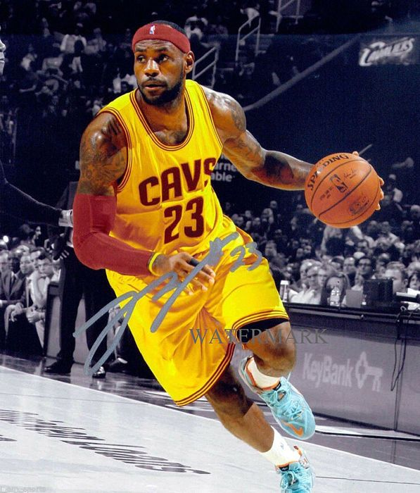 Lebron James Autographed Cleveland Cavaliers 8x10 Reprint Photo Rp Sports Lebron James Cleveland Lebron James Cleveland Cavaliers Cleveland Cavaliers Lebron