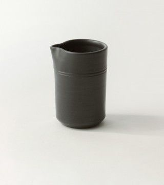 Pitcher in black