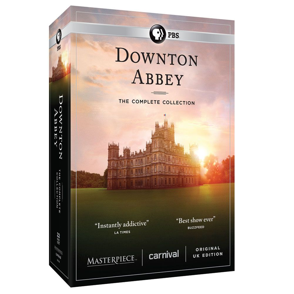 Downton Abbey The Complete Series Unedited Uk Edition Dvd Blu
