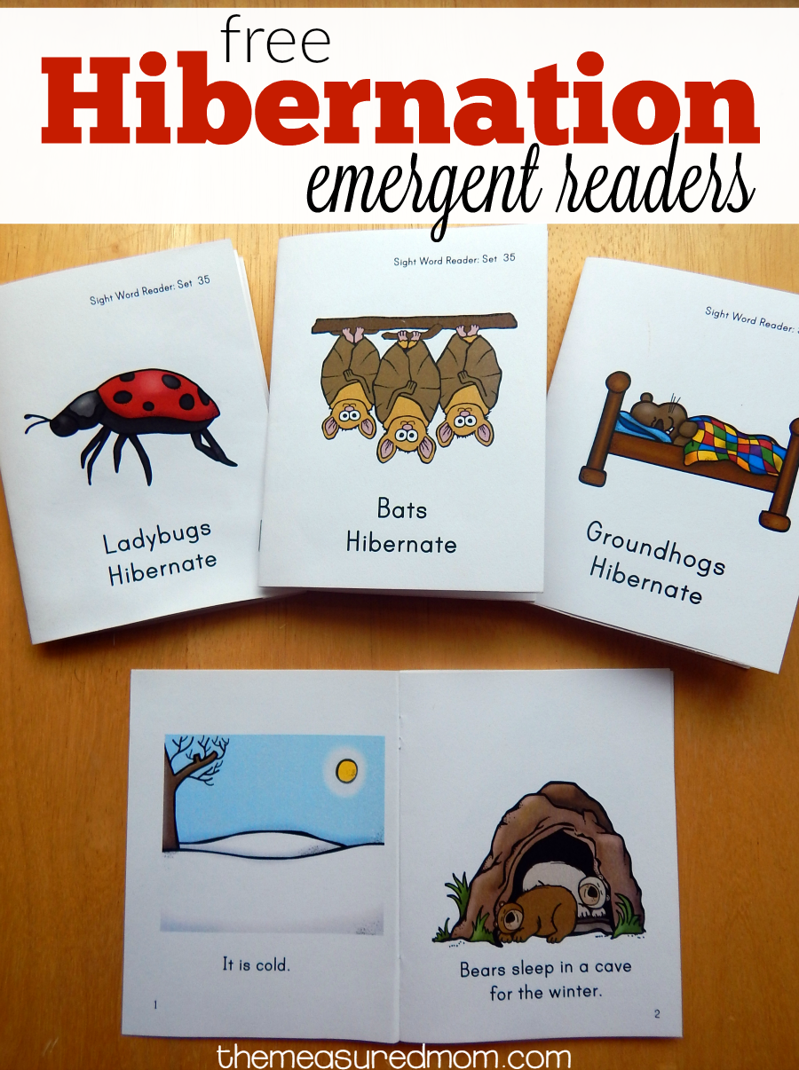 Hey Where Are The Sight Word Books The Measured Mom Early Readers Books Animals That Hibernate Hibernation Preschool [ 1206 x 900 Pixel ]