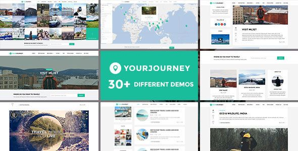 Your Journey - Travel Blog WordPress Theme - News / Editorial Blog ...