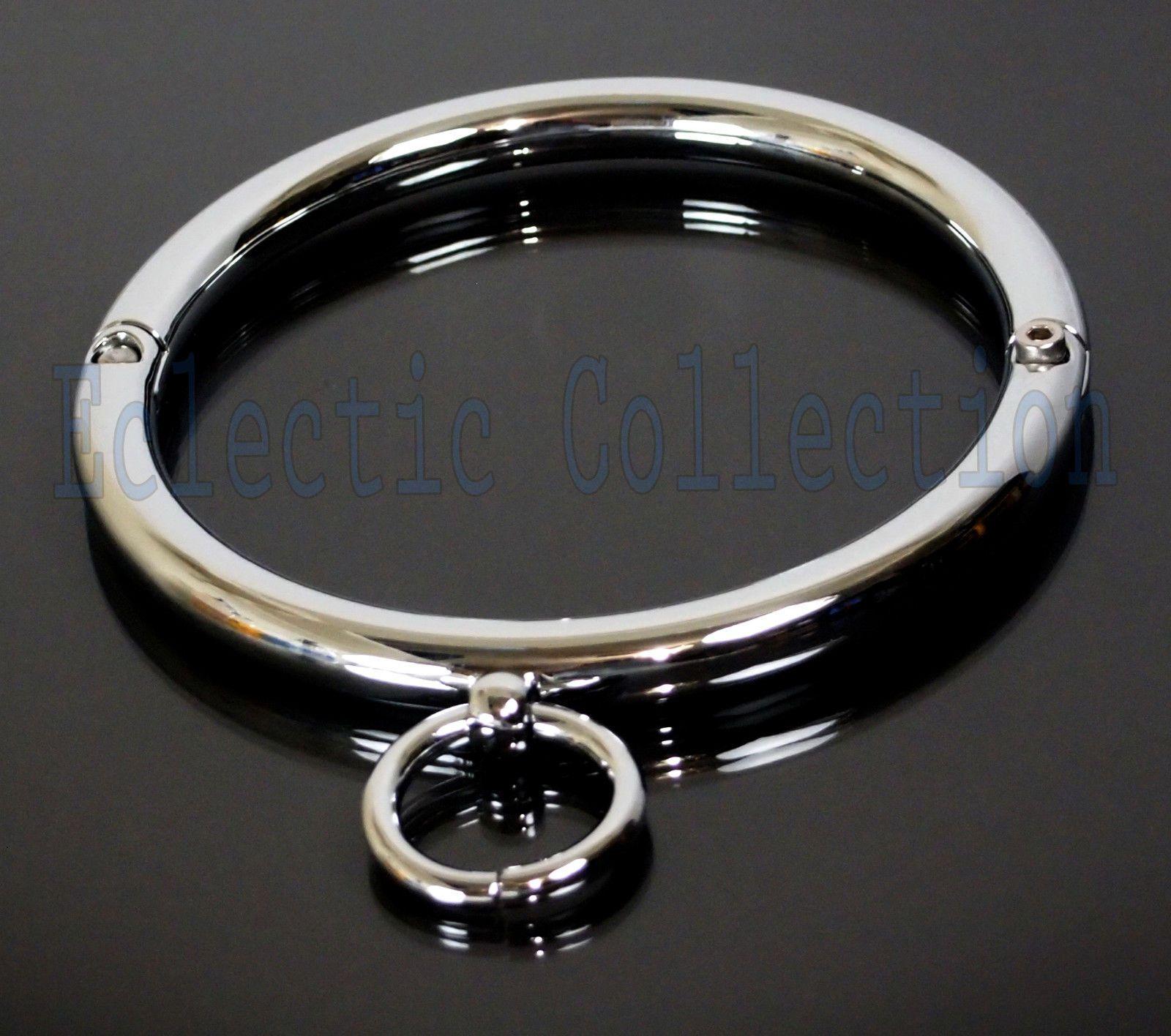 Bdsm chrome cuffs