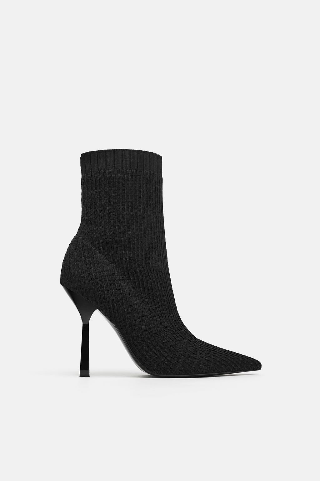 ca4a9363fa4 Image 2 of ELASTIC HEELED BOOTIES from Zara