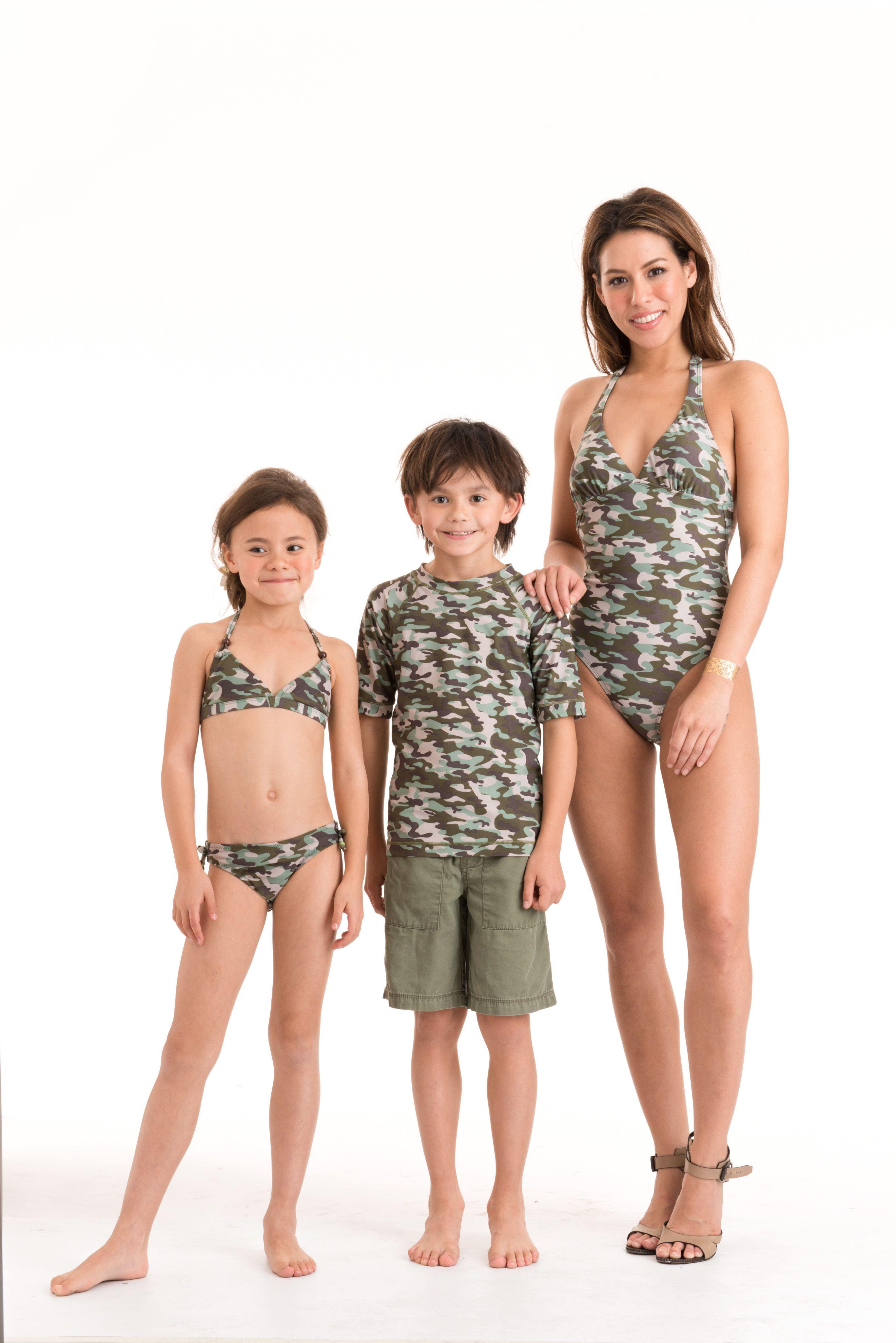 40c67b42bd Girls & boys camo camouflage swimsuits & bikini and sun shirts absolutely  gorgeous! Itsy Betsy bikini and Ruffle neck onepiece for kids 2-10yrs.  Matching ...