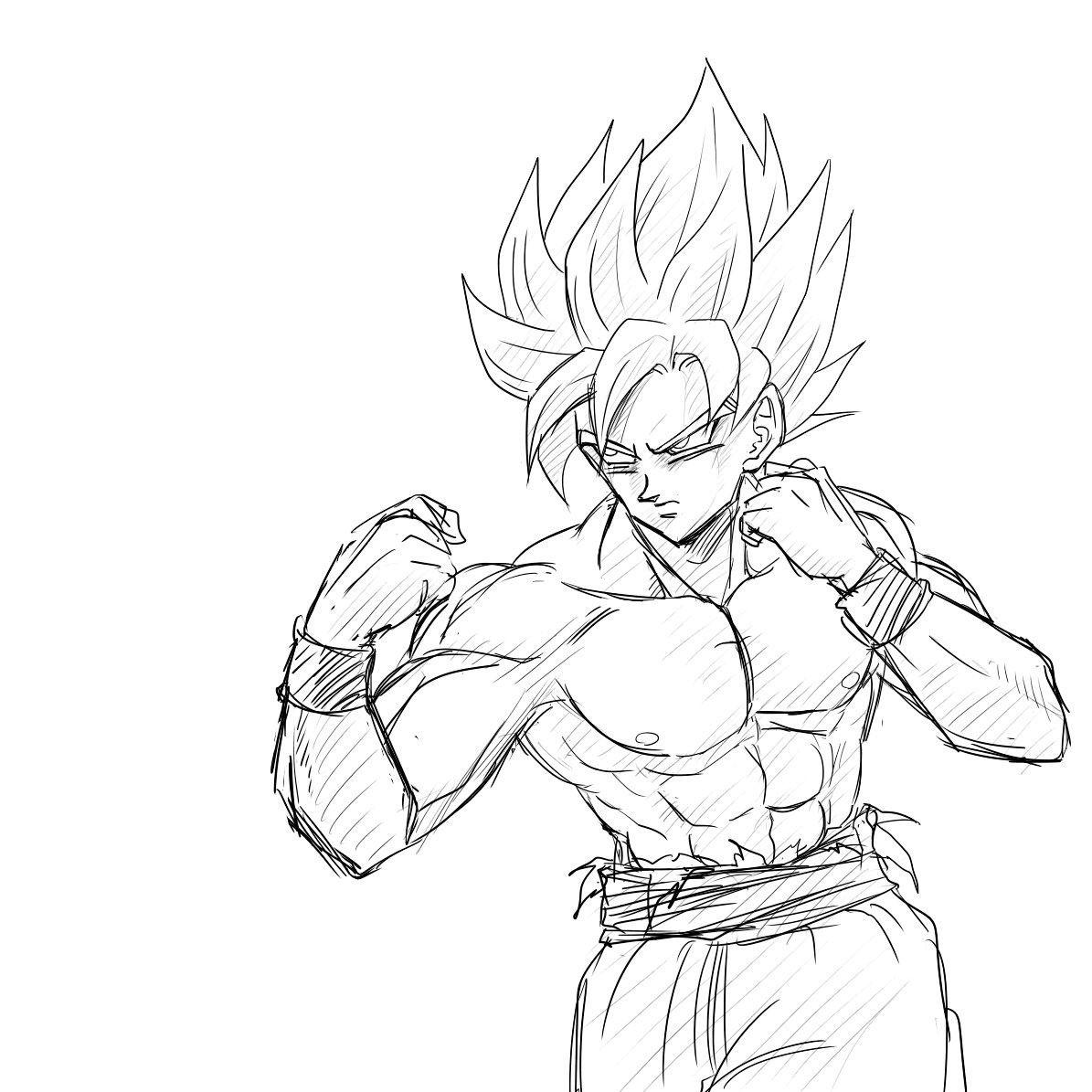 Son Goku Dessin