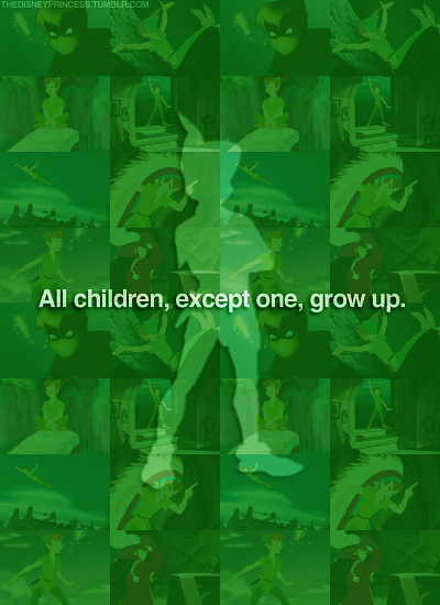 All Children Except One Grow Up 2nd Star To The Right