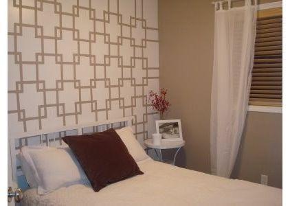 modern bedroom Wall Paint Idea Wall painting ideas Pinterest - farbe für schlafzimmer