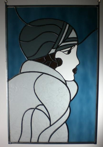 Deco  lady