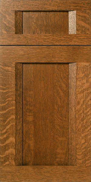 S872 Rider Quarter Sawn White Oak Cabinet Door Drawer Front In