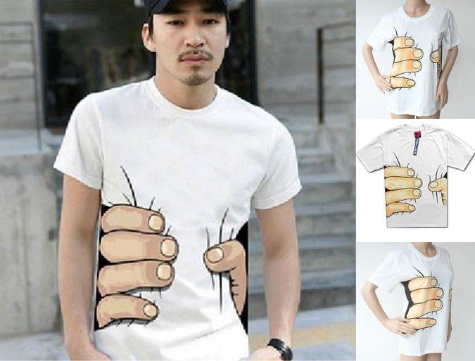 Big Hand Printed T-shirt http://coolpile.com/gadgets-magazine/big ...