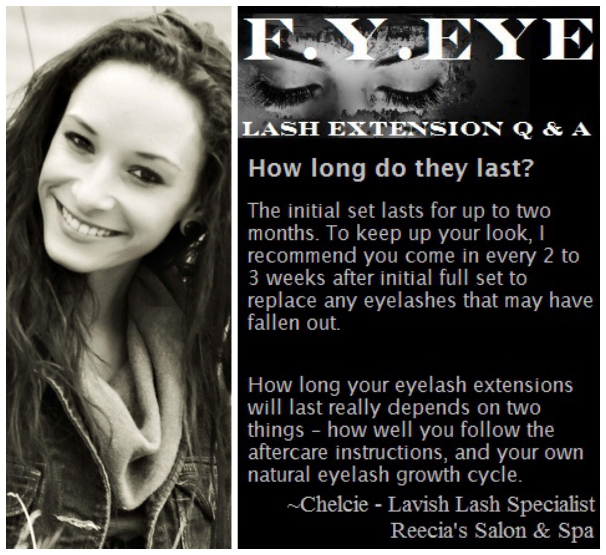 Lavishlash Eyelash extensions - How long do they last? # ...