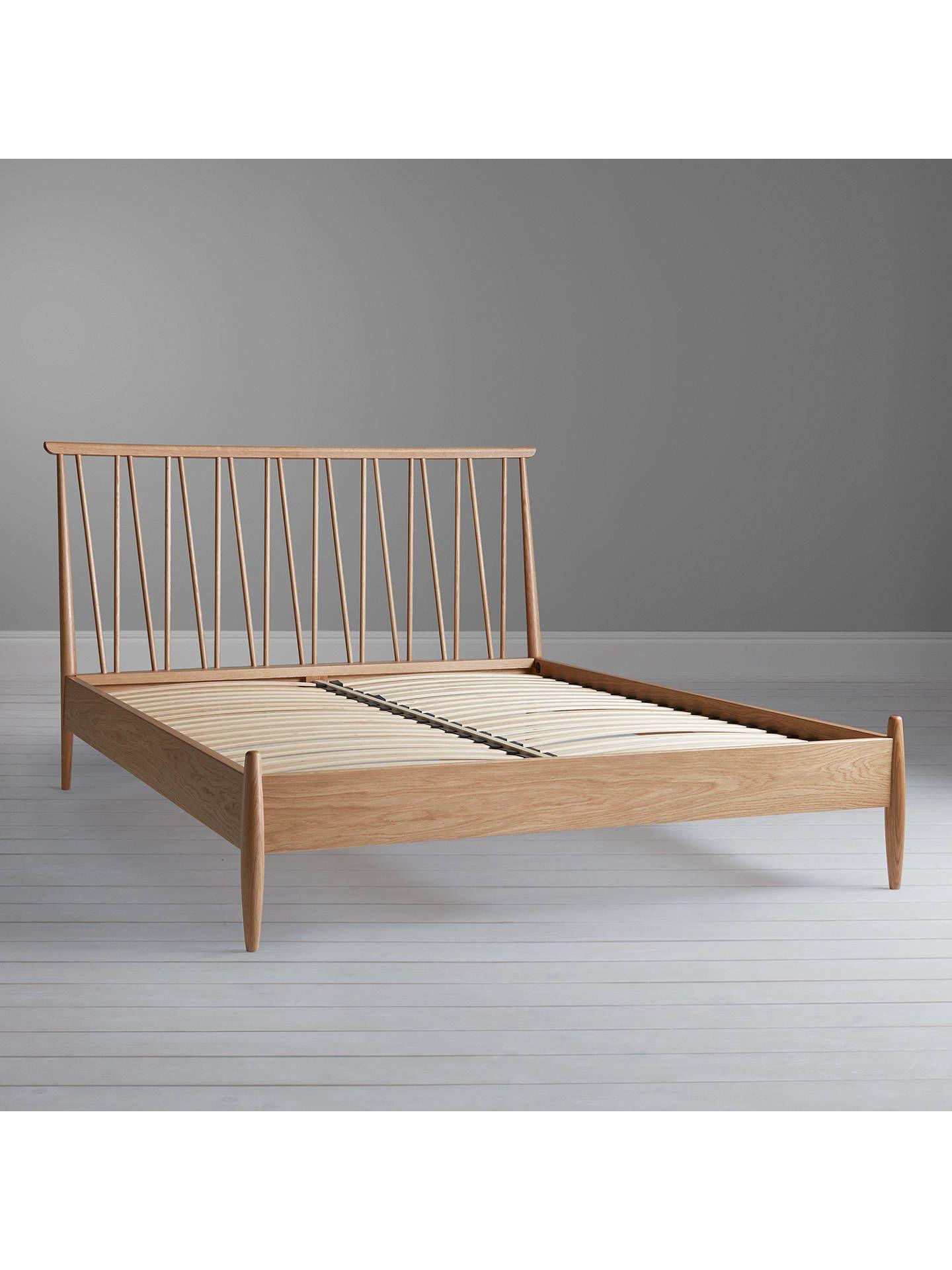 Ercol For John Lewis Shalstone Bed Frame Oak Double Oak Bed