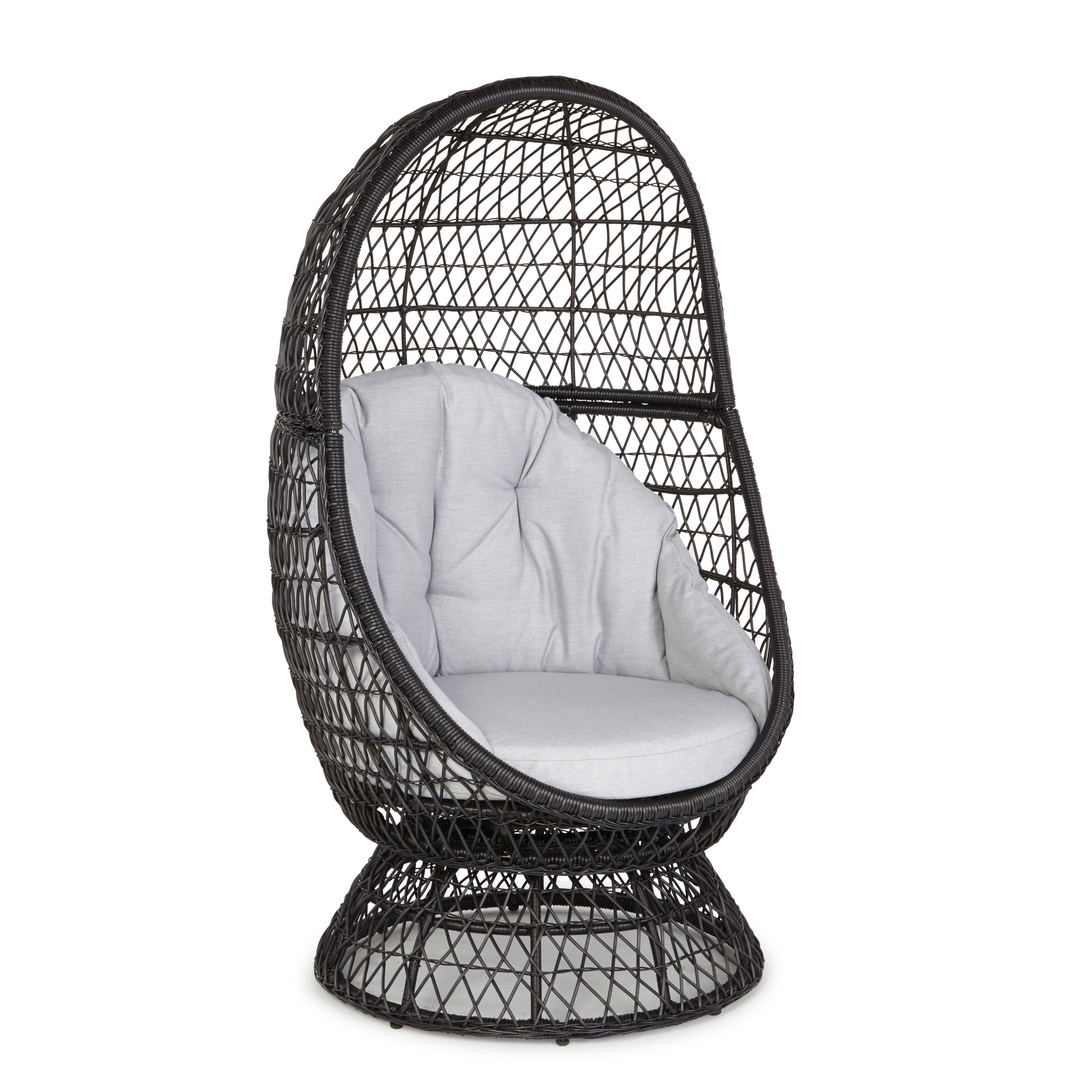 Anya Metal Egg Chair   Bu0026Q for all your home and garden supplies and  advice on. egg chair garden furniture   Roselawnlutheran