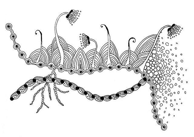 Zentangle inspiration page #133 - Gardening | Flickr - Fotosharing!
