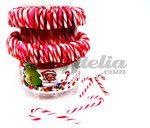 Bastones de caramelo Blanco y Rojo 12 grs