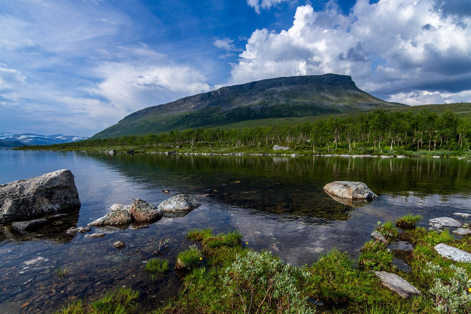 Photo by © Tuomo Lindfors Saana Fell, Finnish Lapland