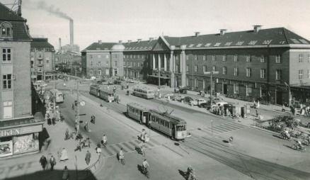 Banegarden Aarhus Aarhus Danmark Historie